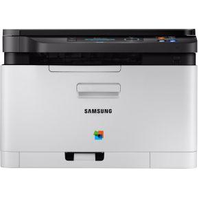 Samsung Multifunctionele kleurenlaserprinter A4 Printen, Scannen, Kopiëren LAN, WiFi, NFC