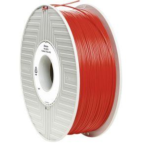 Verbatim 1.75 mm PLA kunststof Filament Rood 1 kg