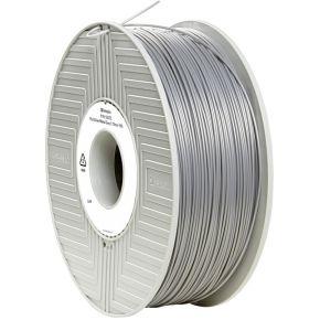 Verbatim 1.75 mm PLA kunststof Filament Zilver-metallic (mat) 1 kg