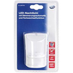 LED-Nachtlamp met Dimautomaat