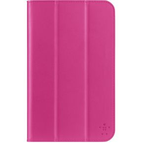 Tri-Fold Folio Case Samsung Galaxy Tab 3 7 pink