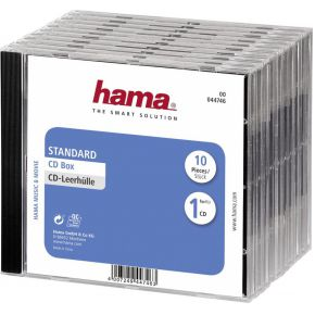 Image of 1x10 Hama CD-cases standaard 44746