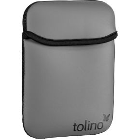 Image of Tolino Shine / Vision Neopreen Tas zwart/grijs