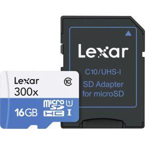 Lexar SD geheugenkaart LSDMI16GBB1EU300A