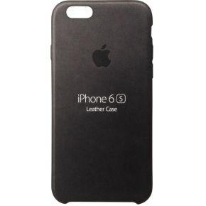 Apple Leder Case iPhone Case Geschikt voor model (GSM's): Apple iPhone 6S, Apple iPhone 6 Zwart