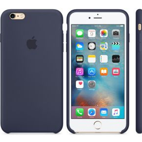 Apple Silikon Case iPhone Case Geschikt voor model (GSM's): Apple iPhone 6S Plus, Apple iPhone 6 Plu