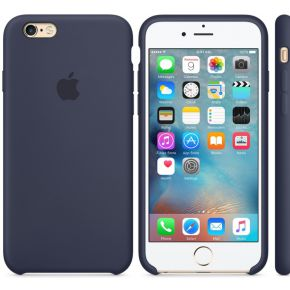 Apple Silikon Case iPhone Case Geschikt voor model (GSM's): Apple iPhone 6S, Apple iPhone 6 Midderna