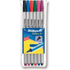 Image of Fineliner 96, 6 kleuren
