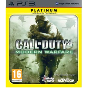 Image of Activision Call of Duty 4: Modern Warfare Platinum, PS3