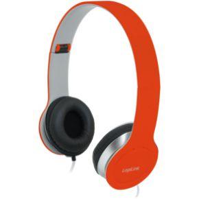 LogiLink Koptelefoon LogiLink stereo 3,5mm&6,3mm rot (HS0035)