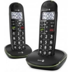 Image of Doro Phone Easy 110 Duo Big Button Care Dect Telefoon Zwart