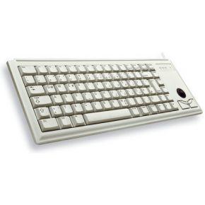 Cherry Compact keyboard G84-4400, light grey, US English with -Symbol (G84-4400LUBEU-0)