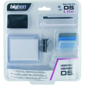 Image of Big Ben, Pack 4 NDS / NDS Lite (Tactical Pen + 2 Tactical Thumb +Antistactic Cloth + Screen Guards + 3 Organizers)