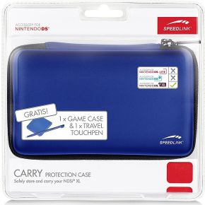 Carry case blue NDSiXL (Speedlink)