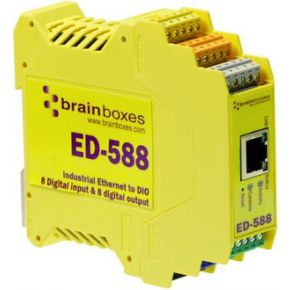 Image of Brainboxes Ethernet to Digital