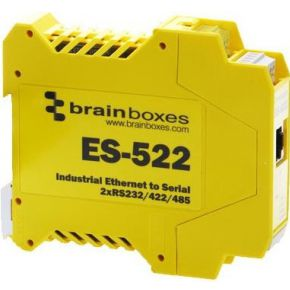 Brainboxes ES-522 netwerkkaart & -adapter