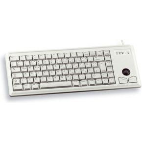 Image of Cherry Compact keyboard G84-4400, light grey, UK-English