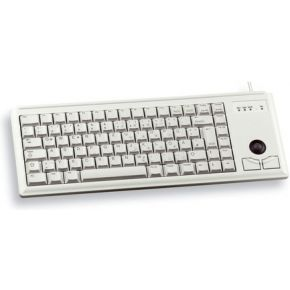 Cherry Compact keyboard G84-4400, light grey, US-English (G84-4400LUBUS-0)