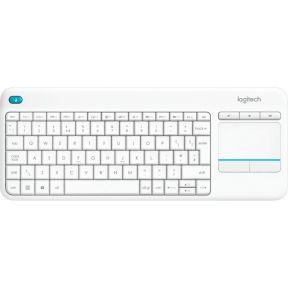 Logitech Wireless Touch Keyb K400 Plus WHITE FRA (920-007130)