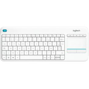 Logitech Wireless Touch K400 Plus WHT NLB 2.4GHZ (920-007132)