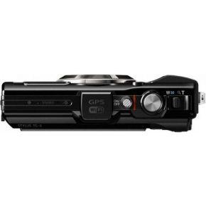 Image of Digitale camera Olympus TG-4 Zwart 16 Mpix Zoom optisch: 4 x incl. accu Schokbestendig, Stofdicht, Spatwaterdicht, Vorstbestendig