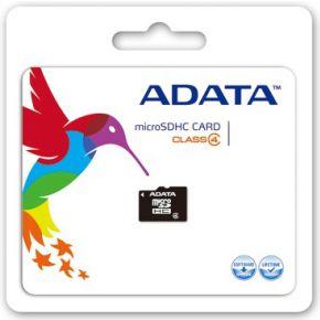 ADATA 32GB MicroSDHC (AUSDH32GCL4-RA1)