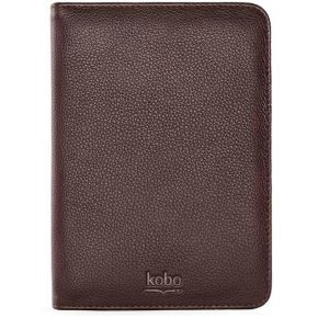 Kobo Carrying Case BookStyle Leather Brown (Touch)