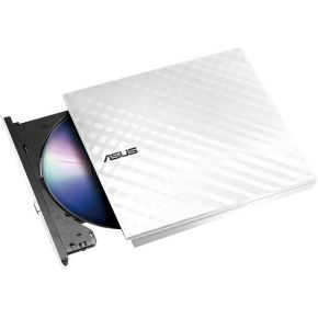 Image of Asus 90-DQ0436-UA221KZ Externe DVD-brander Retail USB 2.0 Wit