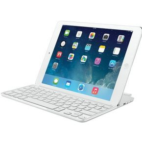 Image of Logitech UltraThin Keyboard Cover for ipad White