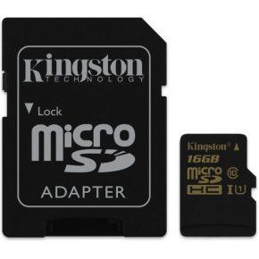 Kingston Technology microSDHC-SDXC Class 10 UHS-I 16GB