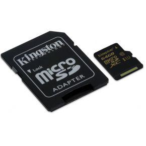 Kingston Technology microSDHC-SDXC Class 10 UHS-I 64GB