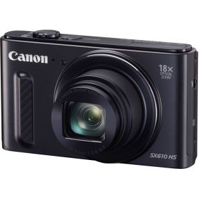 Image of Canon Foto Camera PowerShot SX610 HS 20.2 Megapixel, WiFi (zwart)