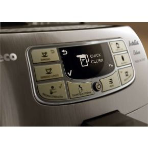 Image of Philips Koffieautomaat Saeco Intelia Deluxe HD8906 (rvs)