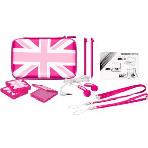 Image of Big Ben Accessoirepakket 3 UK Pink Edition voor 3DS XL