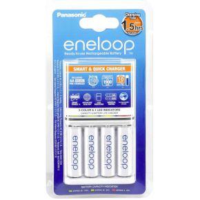 Panasonic Eneloop oplader (2uur) + 4x (AA-HR06) 1900mAh