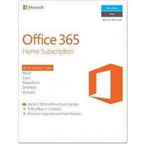 Microsoft Office 365 Home Premium NL 1 jaar abonnement