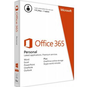 Microsoft Office 365 Personal NL 1 jaar abonnement
