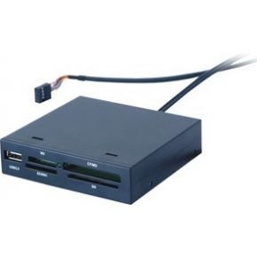 Image of 3.5 USB 2.0 Card Reader (up to 480 MBit/s) incl. exchangeable packing