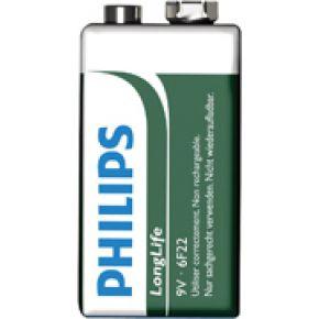 Philips 6F22L1B Batterij 9V
