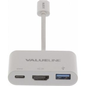 Valueline digitale AV-multipoortadapter USB 3.1 C male C-HDMI™-A female 0,20 m