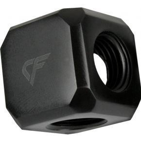 Nanoxia WAK Nanoxia CF Wrfel Adapter met fnflade en G 1-4 IG (CF-MGF05F)