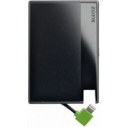 Leitz PowerBank CreditCard w.Lightning1350 zwart (65260095)