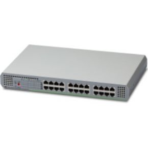 Allied Telesis AT-GS910-24-50 Unmanaged Gigabit Ethernet (10-100-1000) Grijs