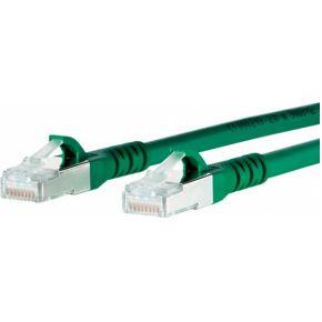 BTR Netcom Netwerk Aansluitkabel CAT 6A S-FTP 2 m Groen
