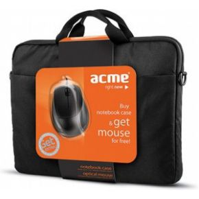Image of ACME 16M37 Notebook case + MS13 optical mouse