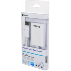 Sandberg Adapter DisplayPort>VGA+Audio (509-04)