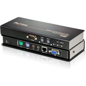 Aten CAT5 PS-2 KVM Ext. Local+Deskew Remote (CE370)