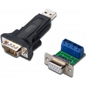 Digitus USB 2.0 Adapter [1x RS485-stekker 1x USB 2.0 stekker A] Wit