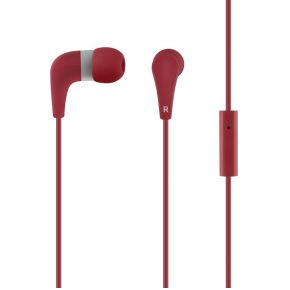 Image of ACME HE15R Groovy in-ear Headset rood