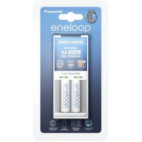 Panasonic Eneloop Panasonic Eneloop oplader (7uur) + 2x (AA-HR06) 1900mAh